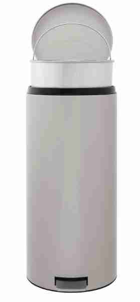 Pattumiera lt.30 Brabantia metallic grey